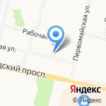 Фин-Норд на карте Архангельска