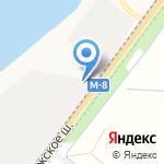 Эврика на карте Архангельска