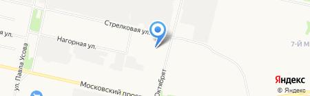 UPAUTO на карте Архангельска