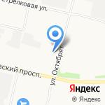 Автоколор на карте Архангельска