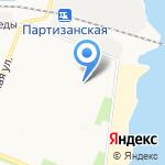 Теремок на карте Архангельска