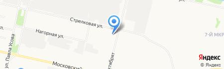 Сила на карте Архангельска