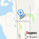 Флигель на карте Архангельска