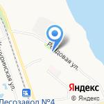 Исакогорская детская библиотека №13 на карте Архангельска