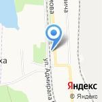 Фрутмаркет на карте Архангельска