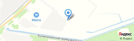 Федерация пэйнтбола Архангельской области на карте Архангельска