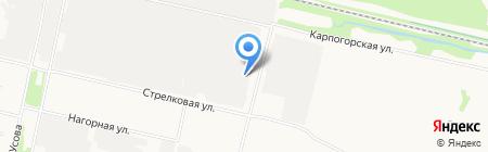 Авторитет на карте Архангельска