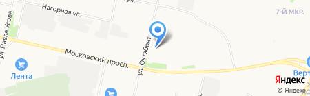 Динамика Архангельск на карте Архангельска
