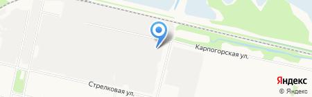 Знак-ТС на карте Архангельска