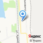 Детская школа искусств №48 на карте Архангельска