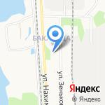 Бакарица на карте Архангельска