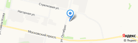 Норд лифт монтаж на карте Архангельска