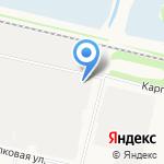 ХАЙВЭЙ на карте Архангельска
