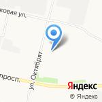 Subaru на карте Архангельска