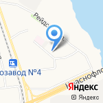 Двина на карте Архангельска