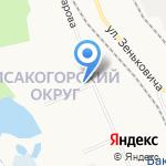 Афанасий на карте Архангельска