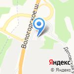 Норд-Ойл на карте Архангельска