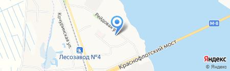 Архангельская городская поликлиника №14 на карте Архангельска