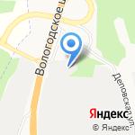 Архавтотранс на карте Архангельска