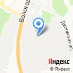 Титан на карте Архангельска