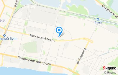 Местоположение на карте пункта техосмотра по адресу г Архангельск, пр-кт Московский, д 35