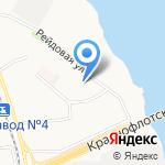 Архангельская городская клиническая больница №4 на карте Архангельска