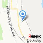 Отделение социальной защиты населения по г. Архангельску на карте Архангельска