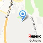 Базис на карте Архангельска