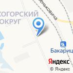 Центр на карте Архангельска