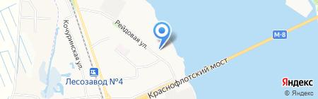 Детский сад №100 Ельничек на карте Архангельска