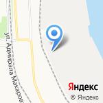Архморторгпорт на карте Архангельска