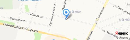 Арктический транзит на карте Архангельска