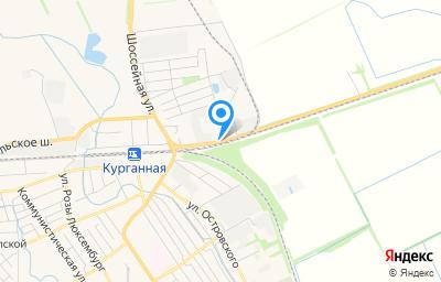 Местоположение на карте пункта техосмотра по адресу Краснодарский край, г Курганинск, ш Армавирское, д 37