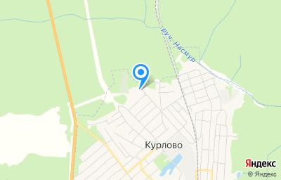 Местоположение на карте пункта техосмотра по адресу Владимирская обл, Гусь-Хрустальный р-н, г Курлово, ул Заводская, д 15А