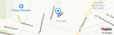 KRAV MAGA Архангельск на карте Архангельска
