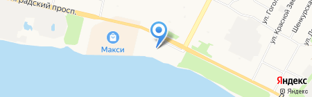 Новый квартал на карте Архангельска