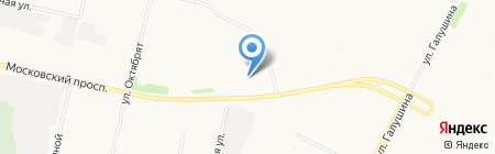 Форд на карте Архангельска