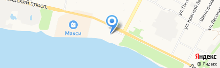 Маленькая Страна на карте Архангельска