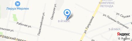 Отдел опеки и попечительства Администрации территориального округа Майская горка на карте Архангельска