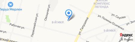 Детский сад №6 Олененок на карте Архангельска