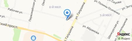Участковый пункт полиции Отдел полиции № 1 на карте Архангельска