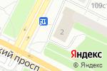 Схема проезда до компании Театр мебели в Архангельске