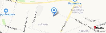 Наш дом-Архангельск 4 на карте Архангельска