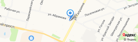 Винтаж на карте Архангельска