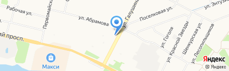 Iris-Ki на карте Архангельска