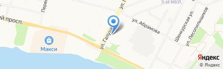 Регион-С на карте Архангельска
