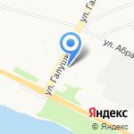 Савва на карте Архангельска