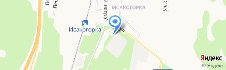 Шиномонтажная мастерская на Магистральной 41 ст1 на карте Архангельска