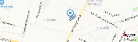 Живые цветы на карте Архангельска
