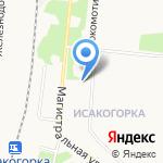 Таблетка на карте Архангельска